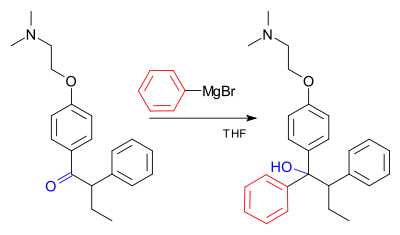 Tamoxifen production