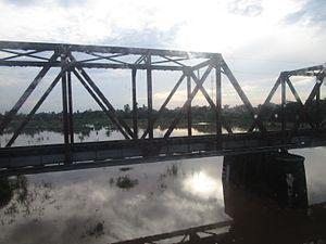 Tangri river - Tangri River at Ambala