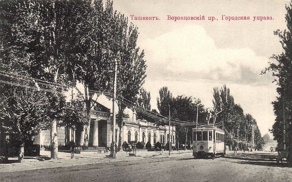 Tashkent the building of town council 02