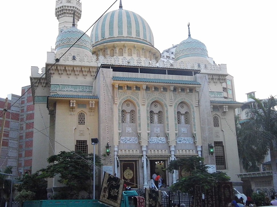 Tawfeqi mosque in Port Said