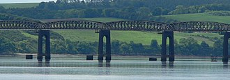 Sir William Arrol & Co. - A closeup of the central section of the second Tay Bridge