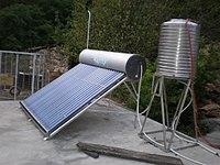 Tea-Horse Trade Guest House, Yunnan solar panel.JPG