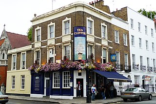 former pub in Knightsbridge, London