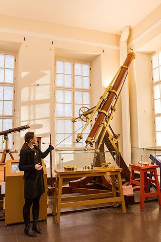 University of Tartu Old Observatory - Fraunhofer Refractor