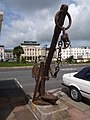 Teignmouth, anchor outside the pier - geograph.org.uk - 1468961.jpg
