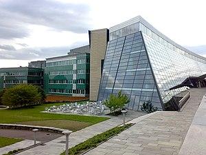 Telenor - Telenor headquarter eastern section, containing Telenor Broadcast and Telenor Norway.