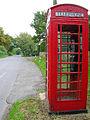 Telephone box, Chalvington - geograph.org.uk - 62620.jpg