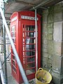 Telephone box outside public toilets, Durham - geograph.org.uk - 1007765.jpg