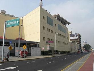 Televisa - Televisa filming studio town in Chapultepec