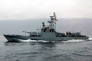 Fast attack craft - A fast attack craft of the Chilean Navy