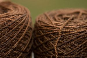 Worsted - Worsted yarn made from Merino wool