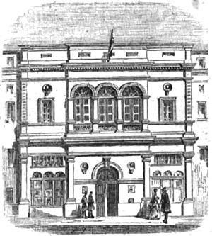 Théâtre des Bouffes-Parisiens - Image: Théâtre des Bouffes Parisiens Paris Illustré 1867 GB