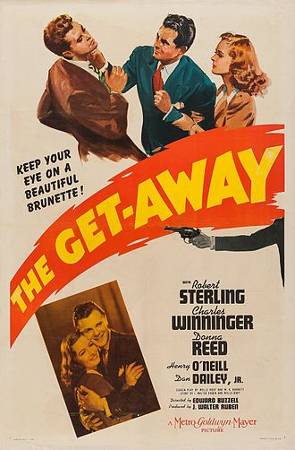 The Get-Away (1941 film) - Theatrical release poster