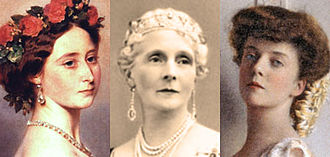 "USS Princess Matoika - SS Princess Alice was named for one or more of these Princesses Alice (from left): Princess Alice of the United Kingdom, Princess Alice of Albany, ""Princess"" Alice Roosevelt."