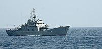 Das Offshore-Patrouillenschiff der bangladeschischen Marine BNS Sangu (P-713).jpg