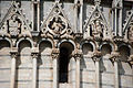 The Baptistry of St. John (close up view), Piazza dei Miracoli (-Square of Miracles-), Pisa, Tuscany, Central Italy-2.jpg