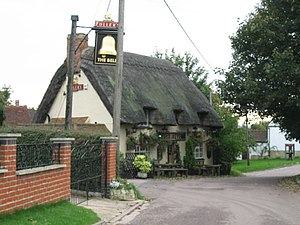 Chearsley - Image: The Bell Inn, Chearsley geograph.org.uk 65466