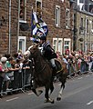 The Braw Lad gallops up Scotts Street on the Gala Day - geograph.org.uk - 1014150.jpg