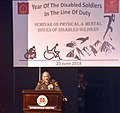 """The Chief of Army Staff, General Bipin Rawat addressing the seminar on """"Physical and Mental Issues of Disabled Soldiers"""", in New Delhi on June 20, 2018.JPG"""