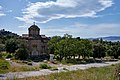 The Church of Saint Apostles in Ancient Agora from Polignotou Street on May 6, 2020.jpg