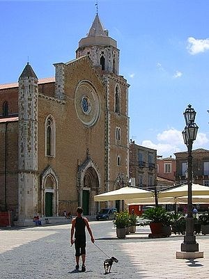 Lucera - Lucera Cathedral was converted into a mosque during the brief Muslim settlement of Lucera.