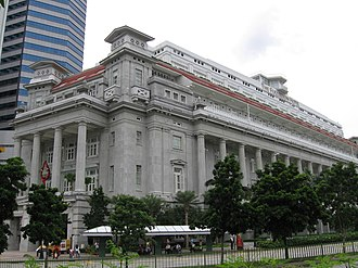 Robert Fullerton - The Fullerton Hotel in Singapore, named after Robert Fullerton