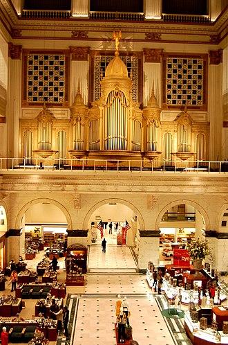 Rodman Wanamaker - The Wanamaker Organ.