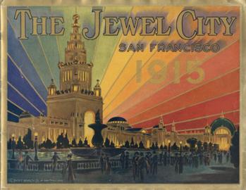 San Francisco International Exposition Powder Compact
