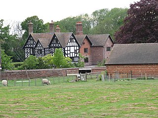 Cherrington village in United Kingdom