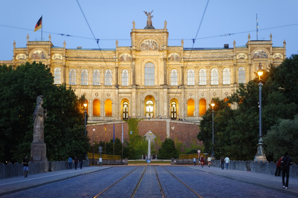 The Maximilianeum Building