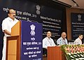 The Minister of State (Independent Charge) for Consumer Affairs, Food and Public Distribution, Professor K.V. Thomas addressing the State Food Ministers' Meet to discuss implementation of the National Food Security Act.jpg