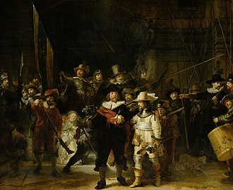Dutch Golden Age - Rembrandt The Night Watch (1642)