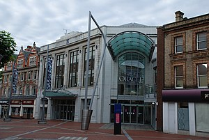 The Oracle, Reading - Broad Street frontage