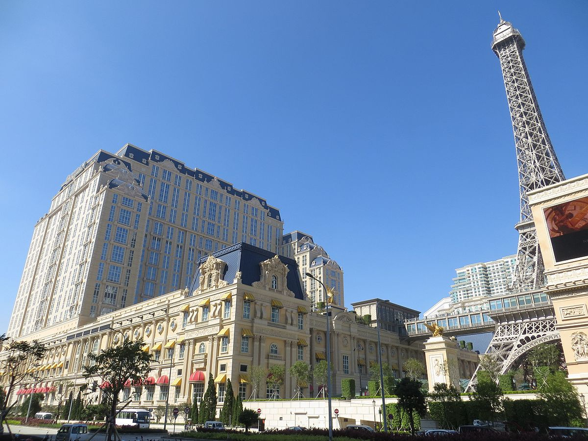 Eiffel Tower Floor Plan The Parisian Macao Wikipedia