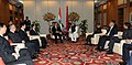 The Prime Minister, Dr. Manmohan Singh at a bilateral meeting with the President of the People's Republic of China, Mr. Hu Jintao, on the sidelines of the BRICS Summit, in New Delhi on March 29, 2012 (2).jpg