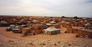 Sahrawi people - Saharawi refugee camp in Tindouf Province, Algeria