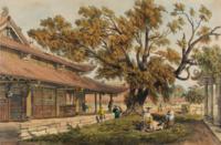 The Sea-screen Temple at Honam Canton