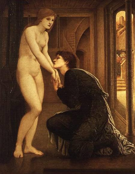 The Soul Attains, Pygmalion (Burne-Jones)