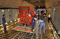 The Submarine Rescue Chamber (SRC) is loaded aboard an Air Force Reserve C-5A Galaxy at Naval Air Station North Island, Calif 000924-N-YM689-006.jpg