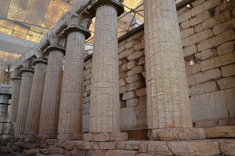 File:The Temple of Apollo Epikourios at Bassae, Arcadia, Greece (14273768075).jpg