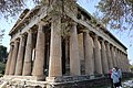 The Temple of Hephaistos in the Ancient Agora of Athens (4). Ca. 460-415 B.C.jpg