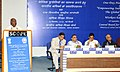 """The Union Minister for Labour and Employment, Shri Mallikarjun Kharge addressing the National Seminar on """"Empowering Indian Workers to Face the Global Challenges"""", in New Delhi on September 16, 2010.jpg"""
