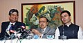 """The Union Minister for Petroleum and Natural Gas, Shri Murli Deora addressing the press conference, after inaugurating the """"NELP-IX Promotional Road Show"""", in Mumbai on October 18, 2010.jpg"""