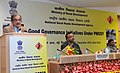 The Union Minister for Rural Development, Panchayati Raj, Drinking Water and Sanitation, Shri Chaudhary Birender Singh delivering the key note address on Good Governance Initiatives under PMGSY.jpg