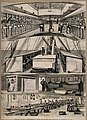 The War in Egypt; the Calabria ship interior. Wood engraving Wellcome V0015349.jpg