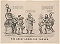 The great American tanner - Thos. Worth. sketch ; on stone by (John) Cameron. LCCN2003674582.jpg