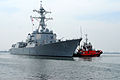 The guided missile destroyer USS Momsen (DDG 92) participates in Cooperation Afloat Readiness and Training (CARAT) 2013 in Jakarta, Indonesia, May 26, 2013 130526-N-SO584-017.jpg