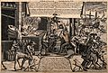 The heads of women are reforged in a workshop by the sea; su Wellcome V0011658.jpg