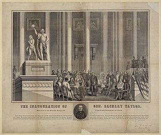 Inauguration of Zachary Taylor