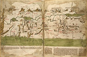 Israelites - Image: The map of the Holy Land by Marino Sanudo (drawn in 1320)